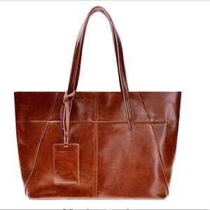 ZLYC Leather Computer, Shopper, & Shoulder Handbag